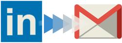 Transfert de LinkedIn vers Gmail