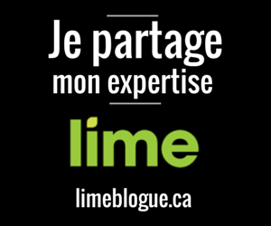 Je partage mon expertise sur le blogue de Lime, à titre de chroniqueur invité.